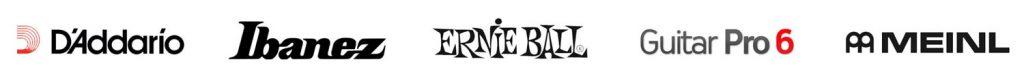 Guitar Academy Partner Logos