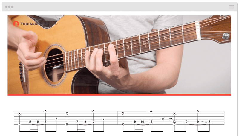 Fingerstyle Songs PDF and Guitar Pro Tabs